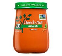 Beech-Nut Baby Food Naturals Stage 1 Just Carrots Jar - 4 Oz