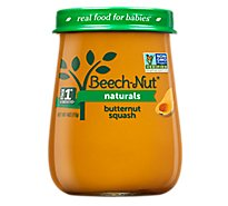 Beech-Nut Baby Food Naturals Stage 1 Just Butternut Squash Jar - 4 Oz