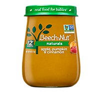 Beech-Nut Naturals Baby Food Stage 2 Apple Pumpkin & Cinnamon - 4 Oz
