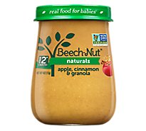 Beech Nut Naturals Baby Food Stage 2 Apple Cinnamon & Granola - 4 Oz