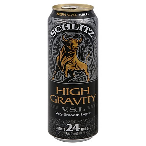 Schlitz High Gravity Vsl - 24 Fl. Oz.