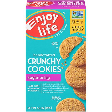 enjoy life Cookies Crunchy Sugar Crisp - 6.3 Oz