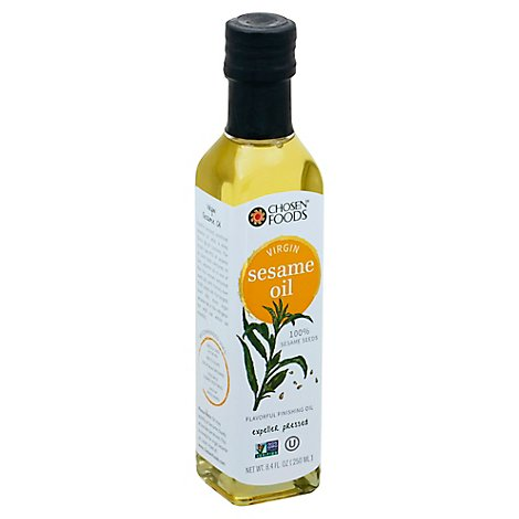 Chosen Foods Sesame Oil Extra Virgin - 8.4 Fl. Oz.