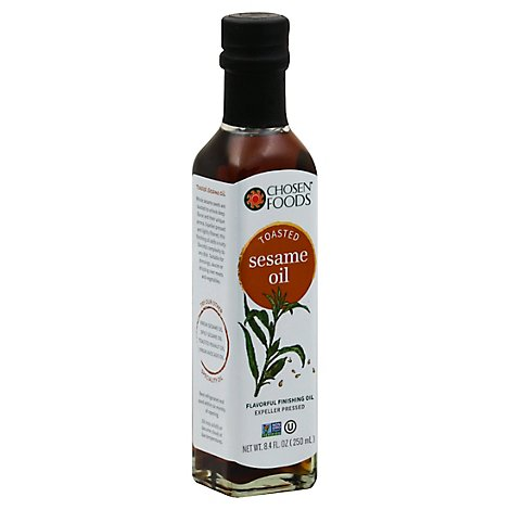 Chosen Foods Sesame Oil Roasted - 8.4 Fl. Oz.