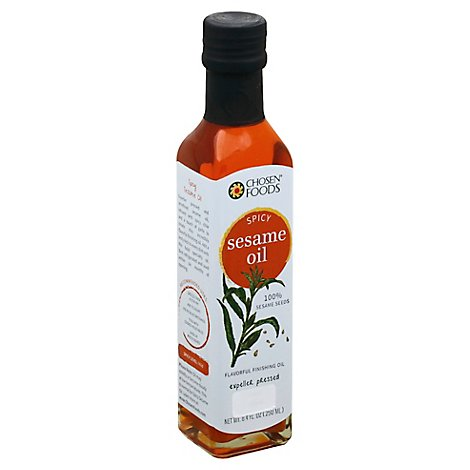 Chosen Foods Sesame Oil Spicy - 8.4 Fl. Oz.