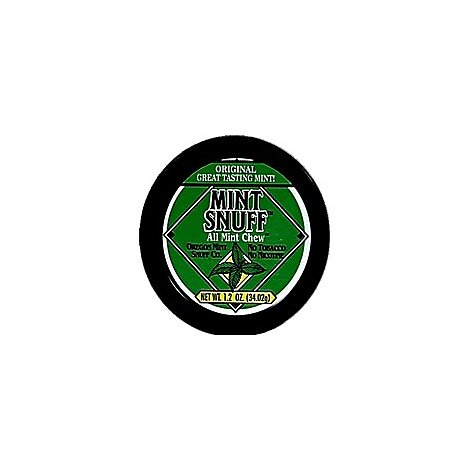 Mint Snuff Natural Mint - Package