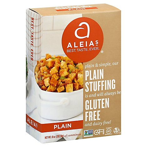 Aleias Stuffing Mix Plains Box - 10 Oz
