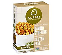 Aleias Stuffing Mix Savory Box - 10 Oz