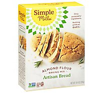 Simple Mills Almond Flour Mix Artisan Bread - 10.4 Oz