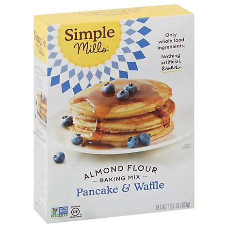 Simple Mil Mix Pancake And  Waf - 10.68 Oz