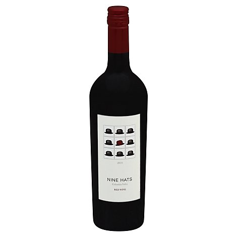 Nine Hats Red Blend - 750 Ml