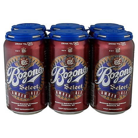 Bozeman Bozone Select Amber In Cans - 6-12 Fl. Oz.