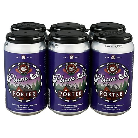 Bozone Plum Porter In Bottles - 6-12 Fl. Oz.