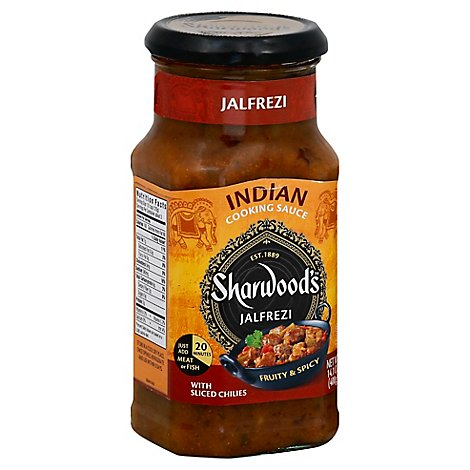Sharwood Jalfrezi Cook Sauce - 14.1 Oz