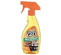 Orange Glo Wood Furniture 2-In-1 Clean & Polish - 16 Fl. Oz.