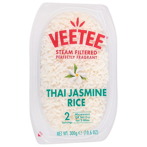VeeTee Dine In Rice & Easy Thai Jasmine - 10.6 Oz
