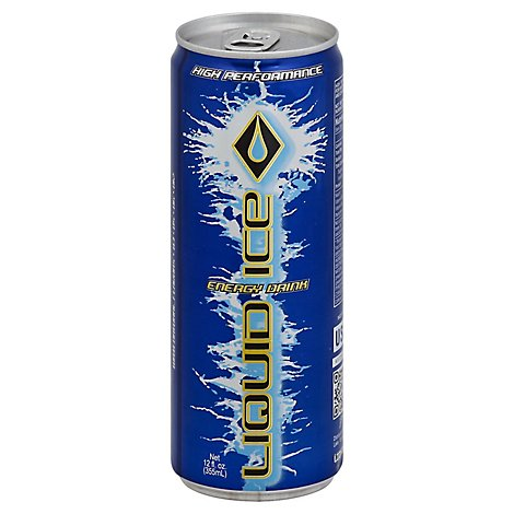 Liquid Ice Energy Drink High Performance - 12 Fl. Oz.