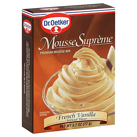 Dr Oetker Mousse Suprm Frnch - 2.7 Oz