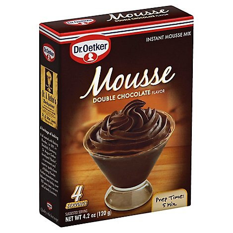 Oetker Chocolate Mousse  4.2 Oz - 4.2 Oz