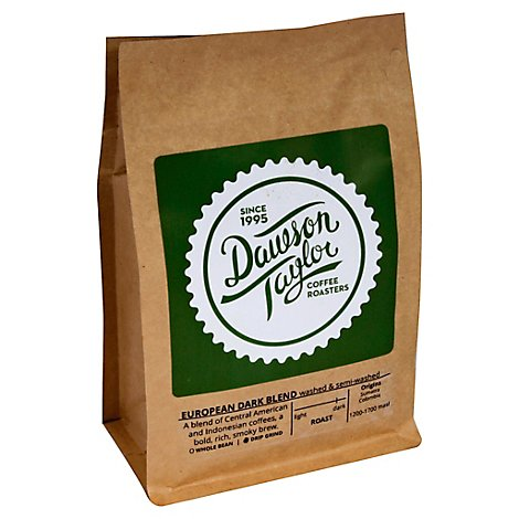 European Dark Blend - 12 Oz