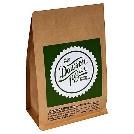 Dawson Taylor Coffee Espresso Primo Blend Pack - 12 Oz