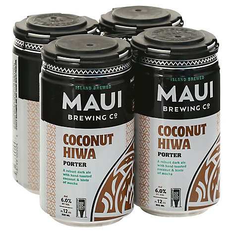 Maui Brews Coconut Porter In Cans - 4-12 Fl. Oz.