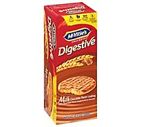 McVities Digestive Biscuits Wheat Milk Chocolate - 10.5 Oz
