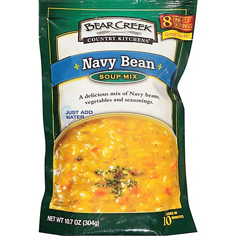 Bear Creek Country Kitchens Soup Mix Navy Bean - 10.7 Oz