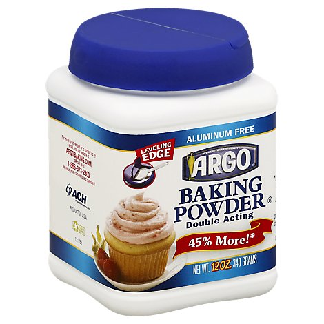 Argo Baking Powder Double Acting - 12 Oz