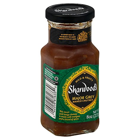 Sharwoods Chutney Major Grey - 8 Oz