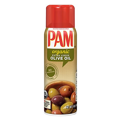 PAM Cooking Spray Organic Olive Oil - 5 Oz