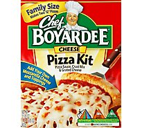 Chef Boyardee Pizza Kit Cheese Family Size Box - 31.85 Oz