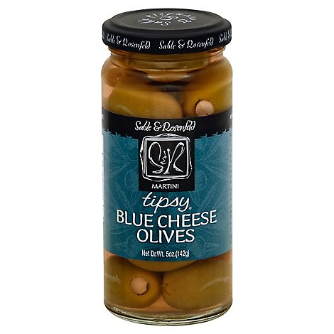 Sable & Rosenfeld Tipsy Olives Blue Cheese - 5 Oz