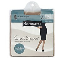 No Nonsense Gshapes Beige A 1 Ea - 1 Each
