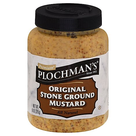 Plocmans Premium Mustard Original Stone Ground - 9 Oz