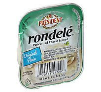 President Rondele Cream Cheese Original - Each