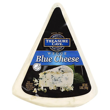 Treasure Cave Blue Wedge Cheese - 5.50 Oz