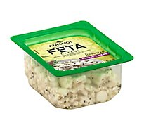 Athenos Cheese Feta Crumbled Garlic & Herb - 4 Oz