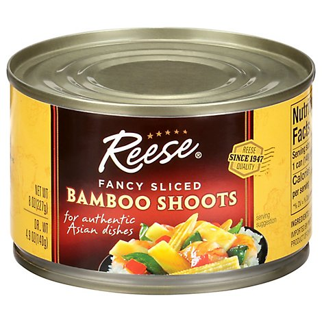 Reese Bamboo Shoots Fancy Sliced - 8 Oz