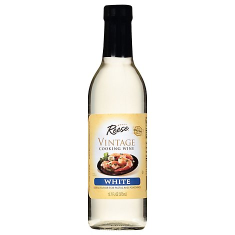 Reese Cooking Wine Vintage White - 12.7 Fl. Oz.
