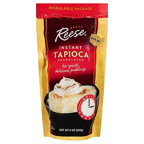 Reese Tapioca Instant Granulated - 8 Oz