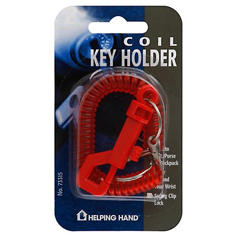 Helping Hand Coil Key Holder - Each