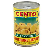 CENTO Artichoke Hearts 8-10 Count - 14 Oz