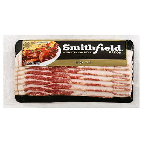 Smithfield Bacon Thick Cut - 12 Oz