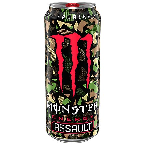 Monster Energy Drink Assault - 16 Fl. Oz.