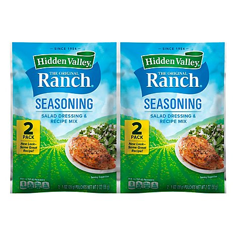 Hidden Valley Salad Dressing & Seasoning Mix - 2 Oz