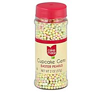 Cake Mate Cupcake Gems Easter Pearls - 2 Oz