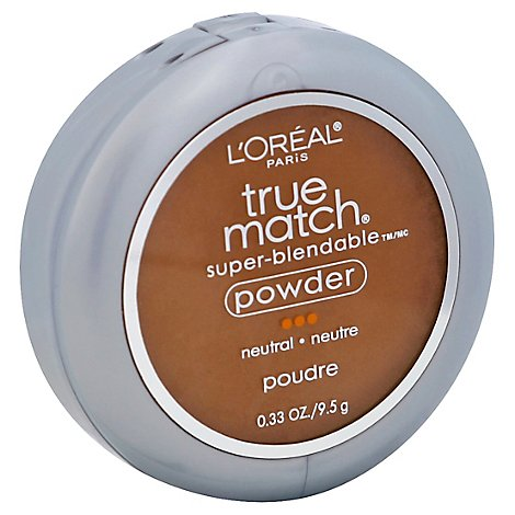 Loreal True Match Powder Cappuccino Light - 0.40 Oz