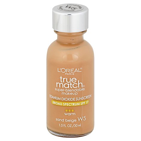 Loreal True Match Makeup Sand Beige - 1 Oz