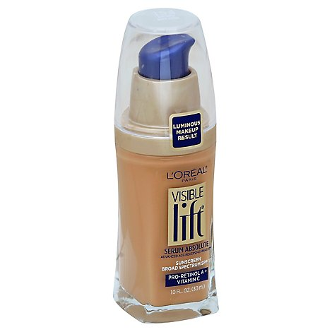 Loreal Visible Lift Serun Beige - 1 Oz
